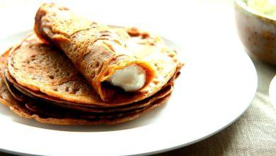 Photo of Naleśniki z mąki kasztanowej.