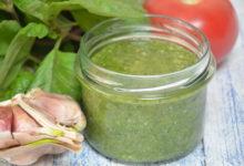 Photo of Świeży sos pesto z bazylii