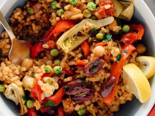 paella warzywna