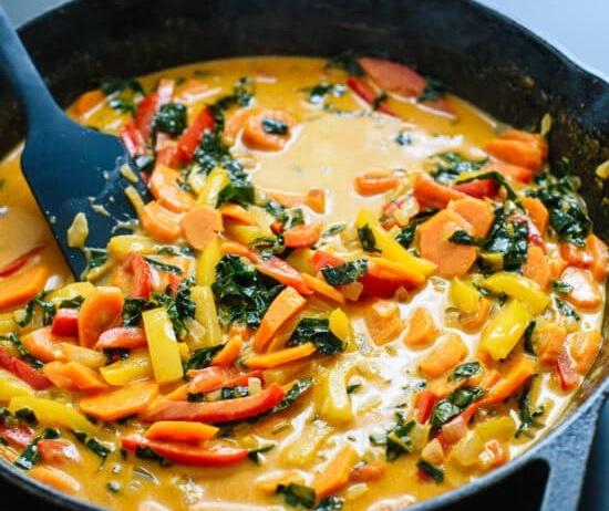 wegańskie curry