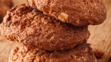 Photo of Bezglutenowe ciasteczka z orzechami