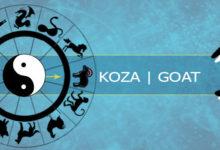 Koza-horoskop chiński