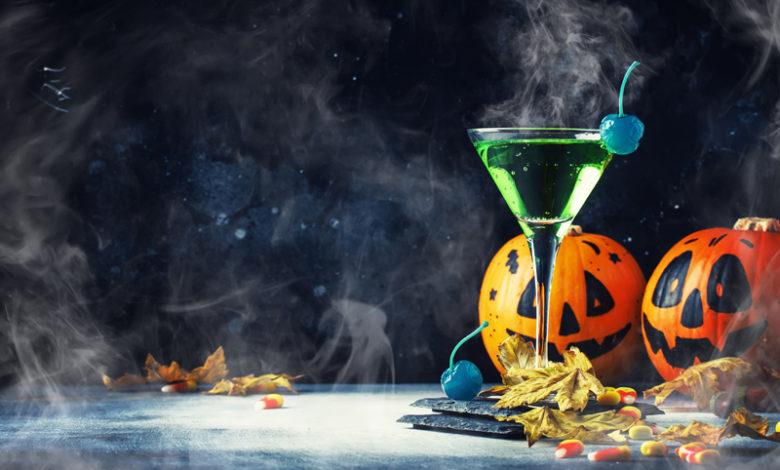 koktajl z konika polnego na halloween