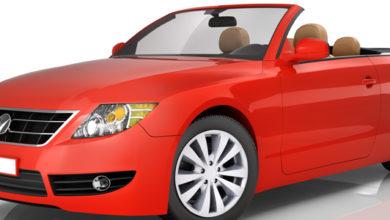 sennik czerwony samochód